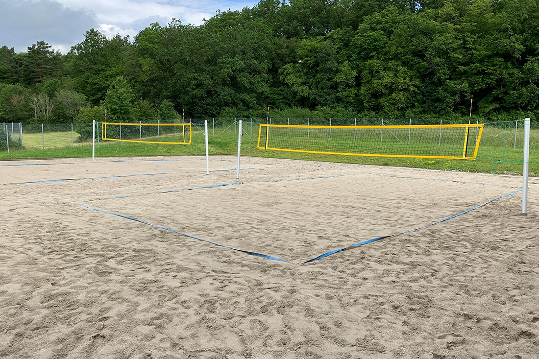 Beachvolleyballfeld in Gechingen
