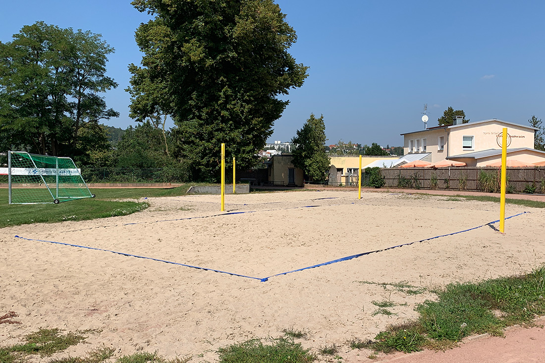 Beachvolleyballfeld in Pforzheim