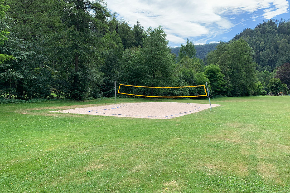 Beachvolleyballfeld in Bad Liebenzell