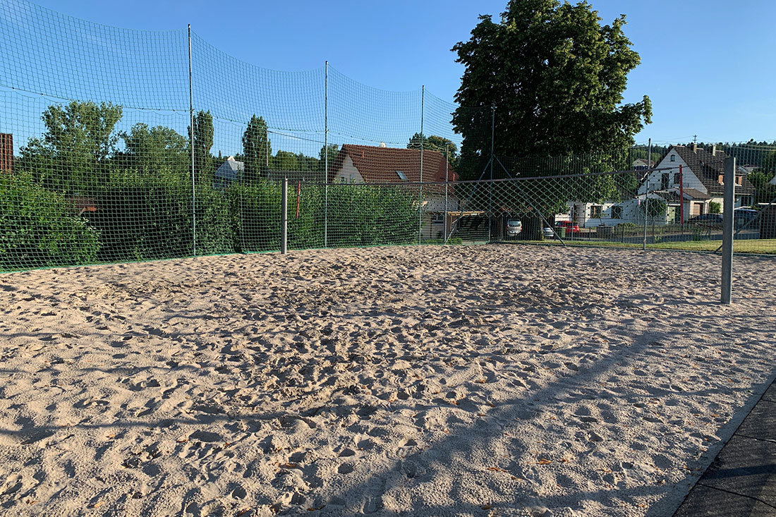 Beachvolleyballfeld in Calw