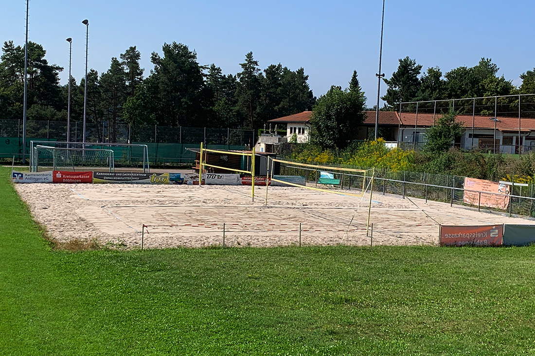 Beachvolleyballfeld in Aidlingen