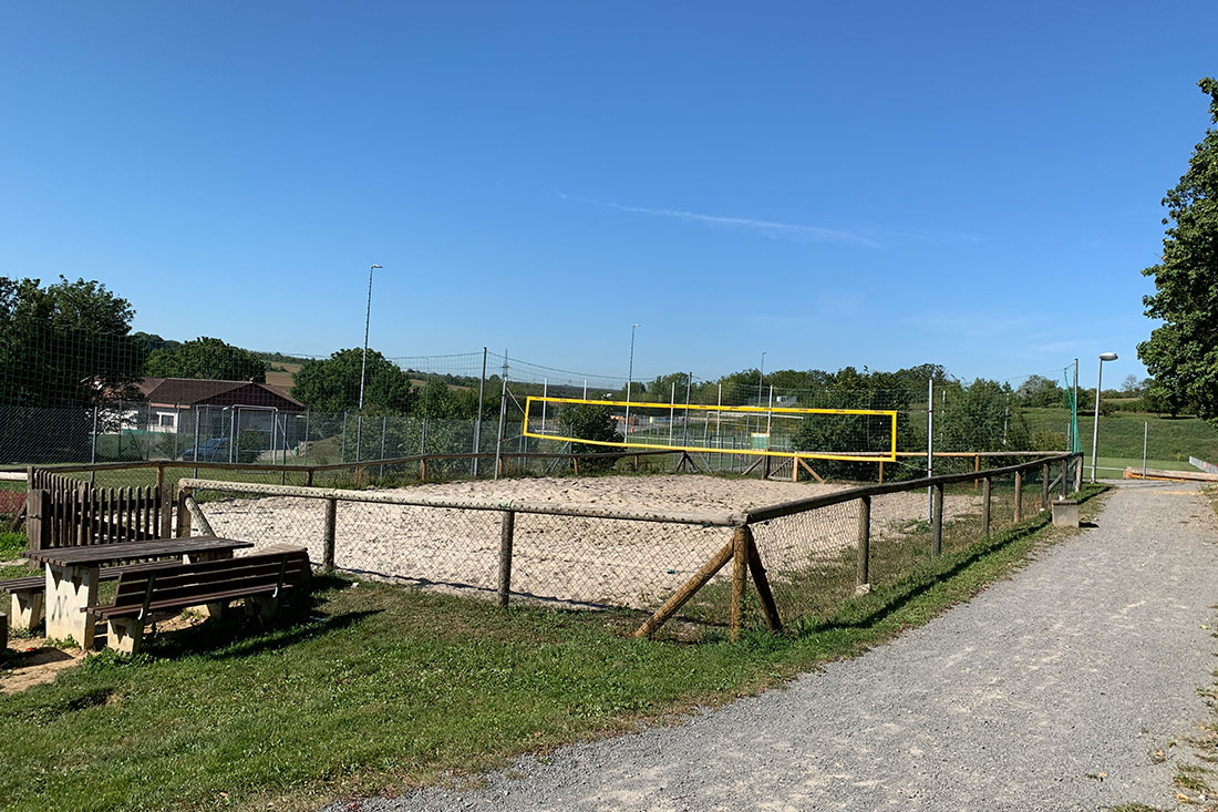 Beachvolleyballfeld Oberriexingen