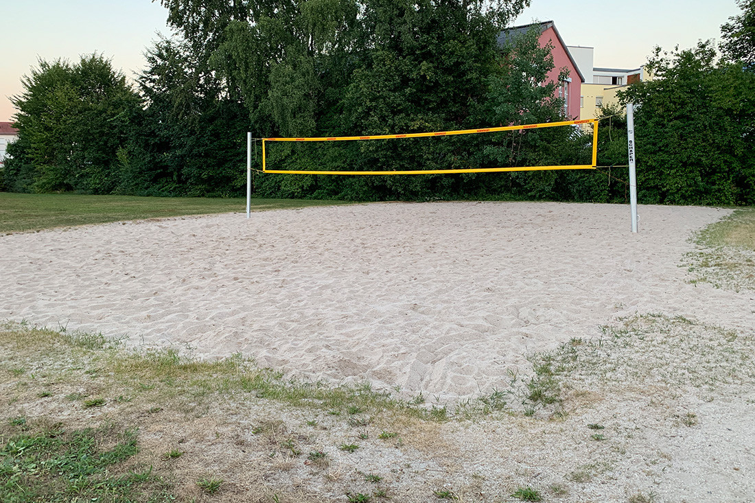 Beachvolleyballfeld in Böblingen