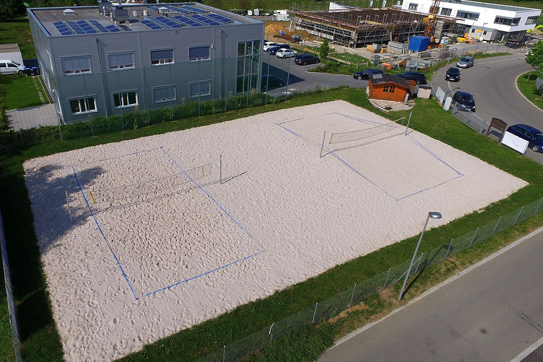 Beachvolleyballfeld in Weissach