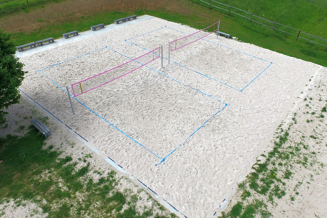 Beachvolleyballfeld in Heimsheim