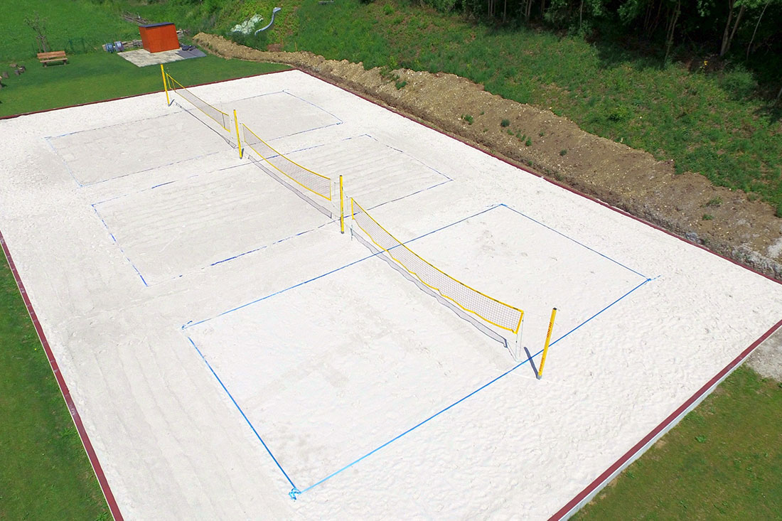 Beachvolleyballfeld in Mönsheim