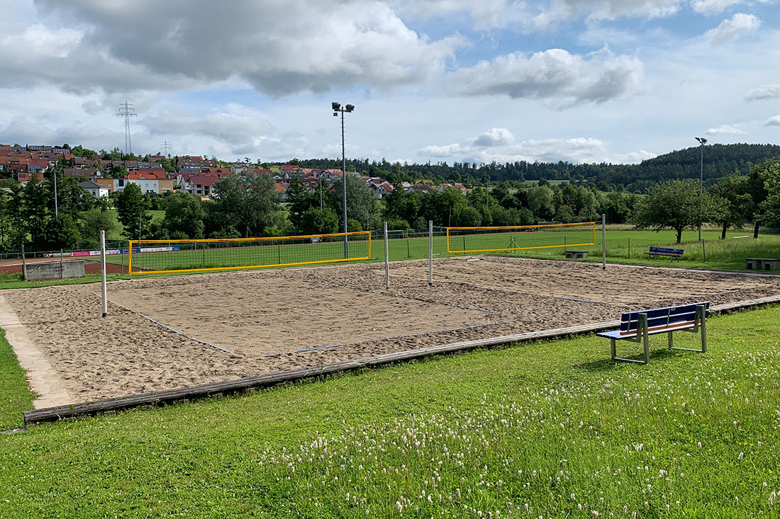 Beachvolleyballfeld in Simmozheim